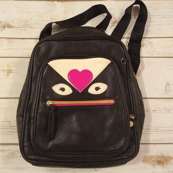Betsey Johnson Handbags - Betsy Johnson Monster Love Med Backpack